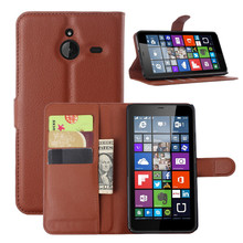 high quality Wallet Leather Phone accessory back cover for Nokia Asha 503