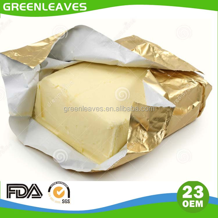 butter foil paper packaging