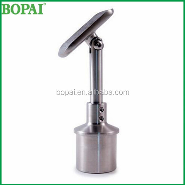 Suit 42.4 OD Tube Stainless steel Top Mounted Handrail Bracket