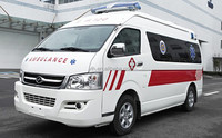 China Hiace Mobile Medical Van Bus