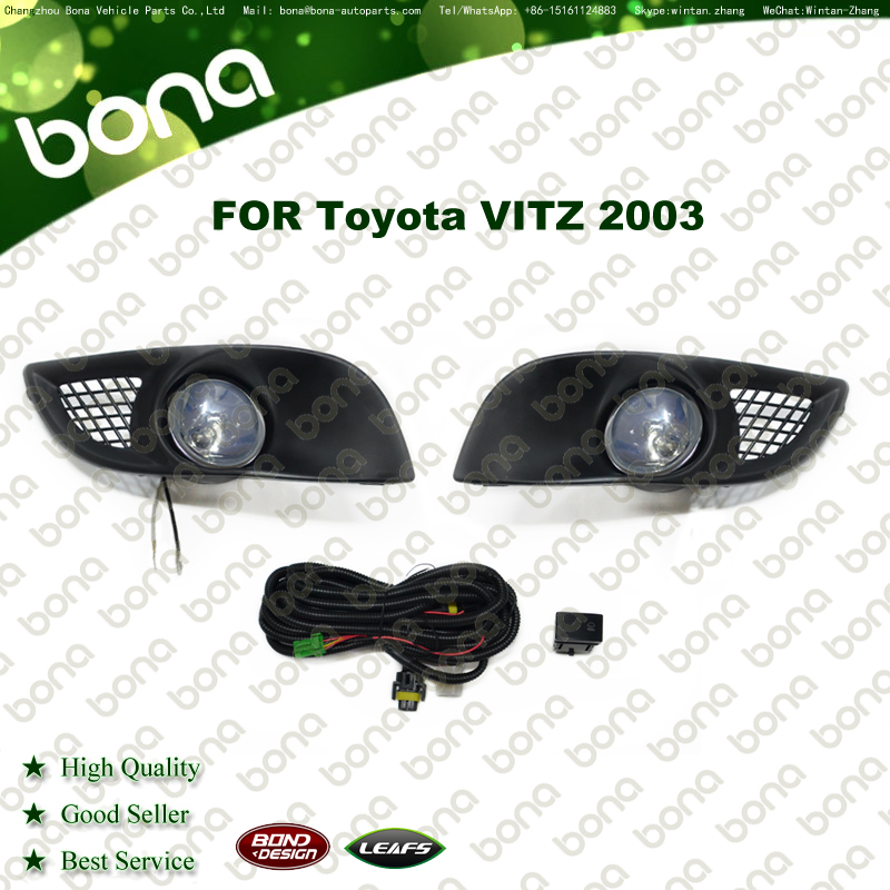 auto light Fog Lamp For Toyota VITZ 2003 Fog Light Kit