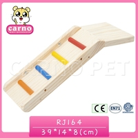 Carno factory supply wooden chinchilla slide