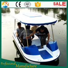 Popular foot paddle boats, amusement water games paddle boats