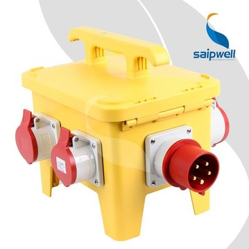 SAIP/SAIPWELL Manufacture Power Waterproof Electrical brass socket box