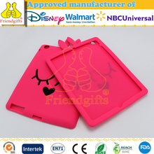 Tablet accessories cute shockproof case for ipad mini silicone case