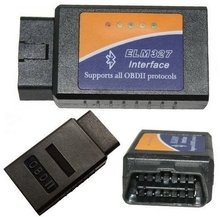 ELM327 V1.5 OBD2 OBD-II Bluetooth CAN-BUS Auto Car Diagnostic Tool scanner for Windows XP, Vista, Win7, OSX and Android