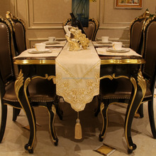 Wholesale price fancy lace dining table runner