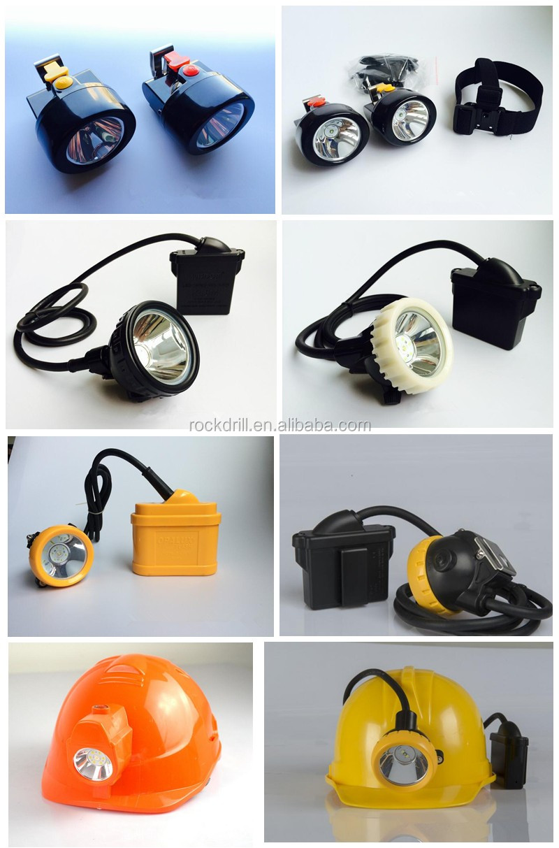 LED explosion-proof miner lamp safety helmet headlamps