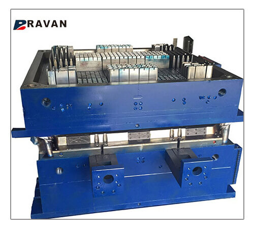 Plastic Crate Mold Molding Injection Mould with custom color injection mold factory