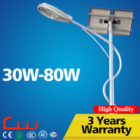 Factory sale low price LED solar power energy street light pole