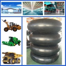Full size cheap butyl rubber AGR farm tractor 14.9-24 inner tube made in China