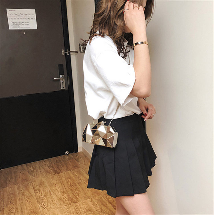 China SuppliersFemale Handbags  Casual Single Shoulder Bag Chain Bag Women's Backpack