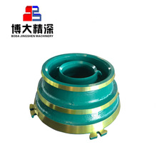 Metso crusher wear parts cone crusher spare parts GP300 GP300S concave and mantle mining equipment