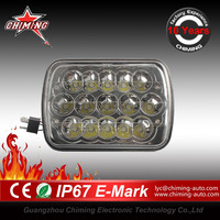 "High Quality 7"" 45W LED Auxiliary Driving Lights HID/LED CRE E Headlight offroad led work light E-mark, CE, RoHS, IP67"