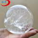 High Polished Clear Quartz Large Stone Sphere