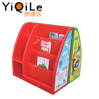 High quality kids plastic bookshelf durable plastic bookshelf cheap children bookcase