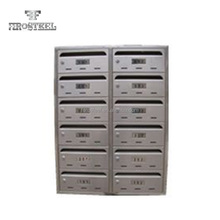 Stainless Steel Wall Mount Letter Mailbox for Apartment Modern Mailbox