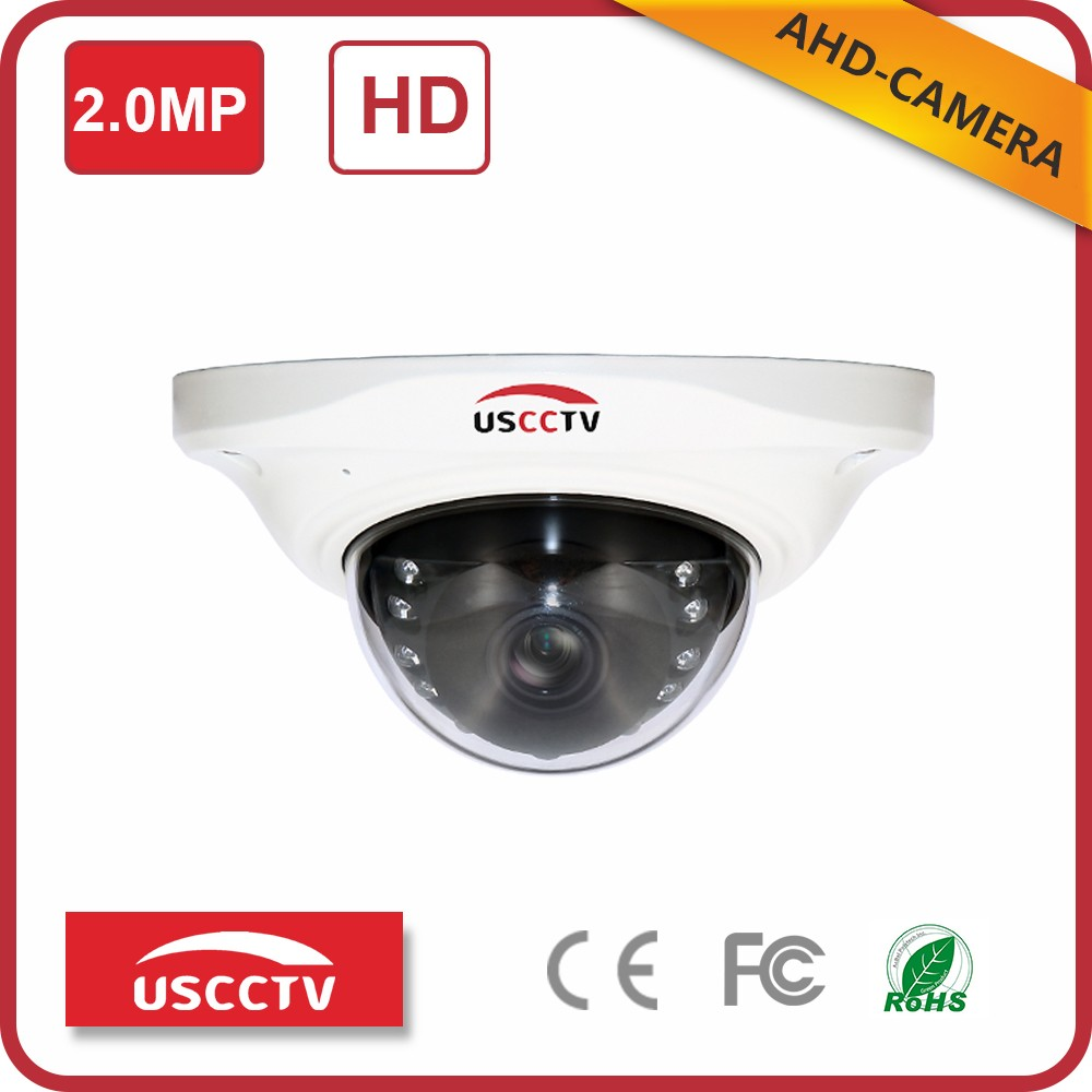 USC AHD cctv camera wide view angle secure eye dome ir camera lens of camera