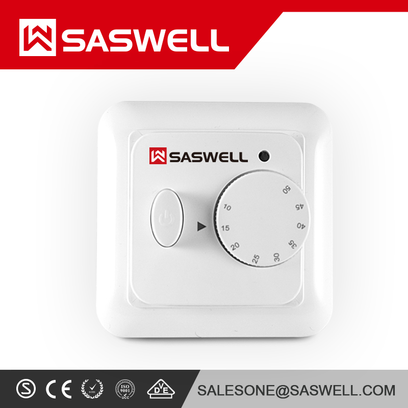 SASWELL HOT PRODUCT Under Floor Heating Mat ALL SIZES Dual Core Electric 150w/m2 with Thermostat kit
