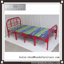 Ironjarl 1900*900*750mm cheap metal folding bed dubai
