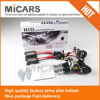 USA market supplier 12v 35w AC DC moto hid xenon slim kit H4 H7 H11