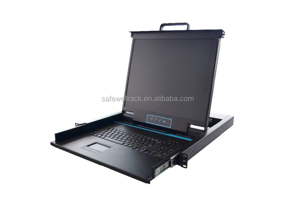"17"" Rackmount 16 Port LCD KVM Switch"