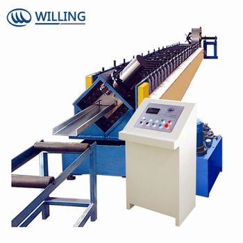 C Z Purlin Steel Sheet Roll Forming Machine with high speed and low price
