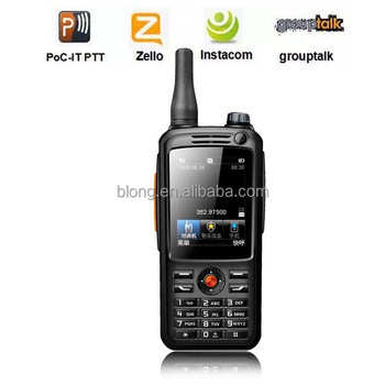 Factory price Push To Talk phone 3G/4G(TDD/FDD) GPS wifi 3500mAh android 4.4.2 For zello