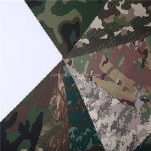 P/D camouflage ripstop nylon oxford fabric