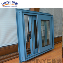 Australia Standard Aluminum sliding open glass window with nailing fin