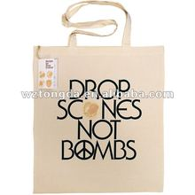 Eco Fabric Tote Canvas Cotton Bag(WZ1898)