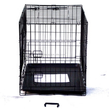 New Design Foldable Outdoor Two door Dog Car Cage
