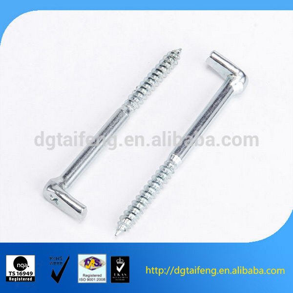 L shape screw fastener hardware products