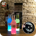 Ce,Rohs Approval Flashing Bar Coasters Led Bottle Sticker
