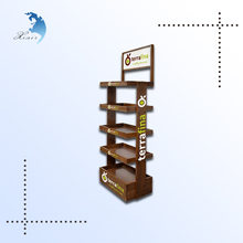 Dalian West Shore shopping mall wooden display wood prints wood display racks