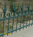 Beautiful Welded Metal Garden Fence,Factory In Qingdao