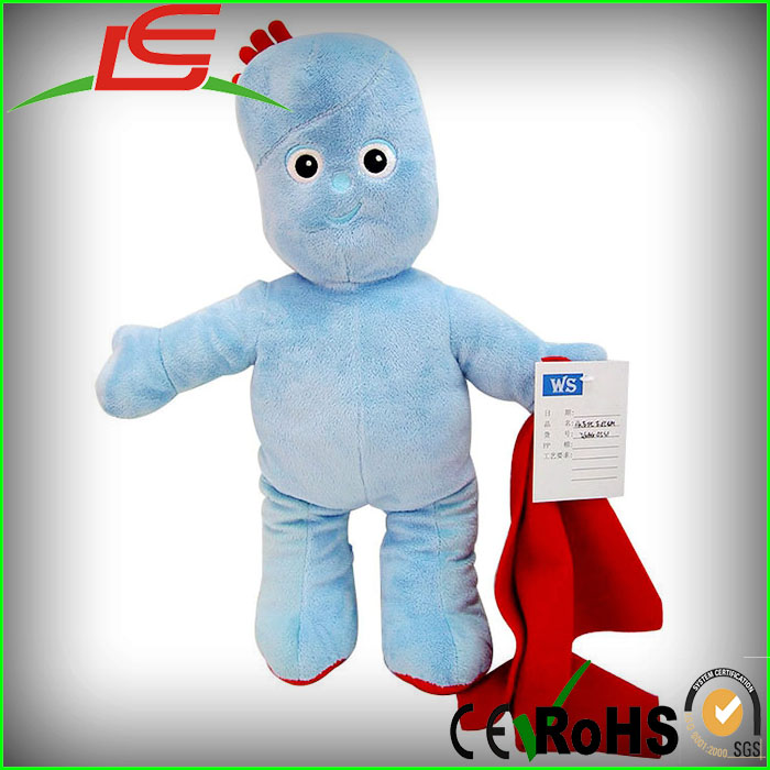 TEDDY TV CARTOON IGGLE PIGGLE SOFT TOY PLUSH DOLL IN THE NIGHT GARDEN