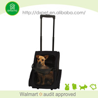 DXPB011Best selling wholesale popular use dog travel bag with wheels