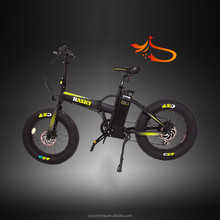 Fat tire coyote connect folding electric motor bike