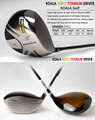 Forged Titanium Customized Golf Driver