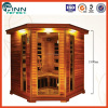 Outdoor sauna room commercial dry steam sauna 6 person sauna