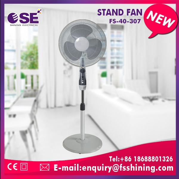 Multifunctional stand fan operates electric charger with high quality