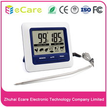 Digital Touch Screen Meat Thermometer Timer With Probe for food kitchen