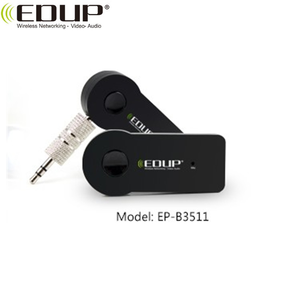 EDUP 3.5mm Car Blue-tooth Music Receiver Speaker audio transmitter blue-tooth radio receiver