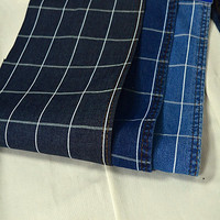 Stripe cotton denim fabric