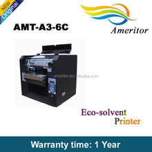 Desktop Eco Solvent Printer,Print On The Covers,Metal,Glass Etc