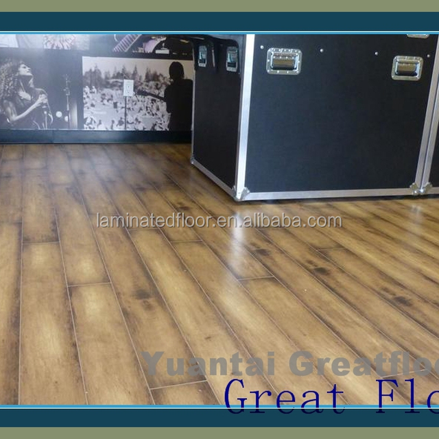 Perfect Impressions creates patterns Laminate Flooring