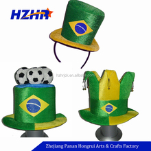 Funny Party Accessory 2018 World Cup Football Fans Hats Soccer Accessories Carnival Hat