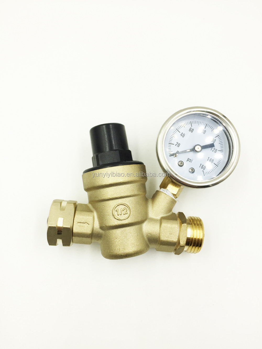 Brass Water Pressure Regulator