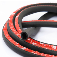 anti-collision rubber foam seal strip car door rubber seal 3 m adhesive rubber seal strip
